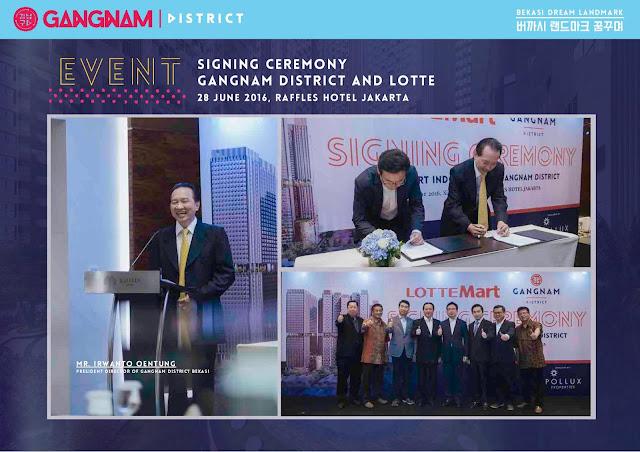 Apartemen Gangnam District Bekasi