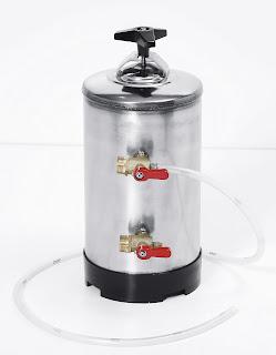 Dedurizator Apa 12 Litri, Produs Profesional Horeca, PretDedurizator manual pentru dedurizarea apei, consum: 1 kg de sare per 500 litri de apa adecvat pentru masinile  de spalat vase Ø 180x(H)500 mm 12 Lit