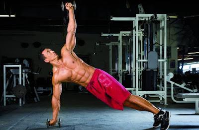 Abdominales y ejercicios básicos - Pesas laterales (Mancuernas)