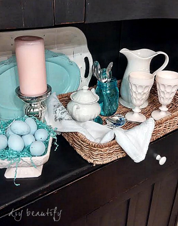 sweet tea station DIY beautify