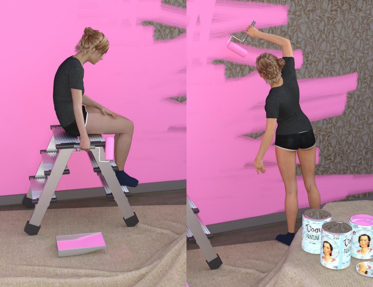 Download daz studio 3 for free daz 3d painting the for Living room 2 for daz studio