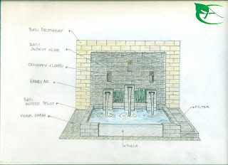 desain kolam minimalis koi