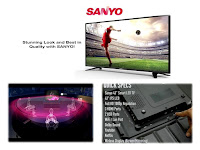 Sanyo LED TV is under Price rangle Rs.30,000/- only