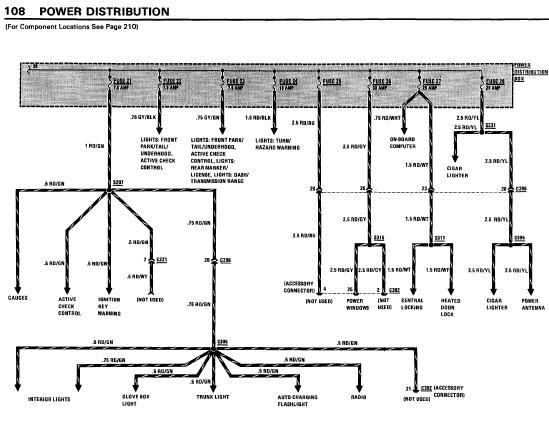 repairmanuals: BMW 733i 1983 Electrical Repair