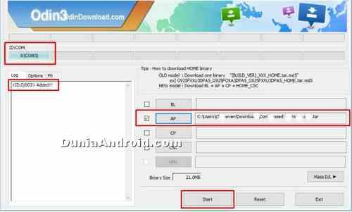 Cara Bypass FRP Lock Samsung via ODIN Tanpa OTG / SideSync