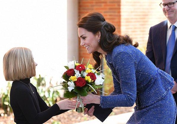 Duchess Catherine visits Ronald McDonald House London