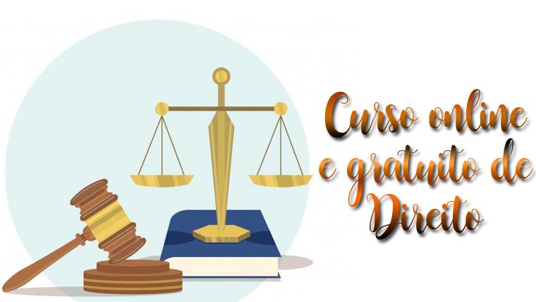 Curso de Direito online e gratuito