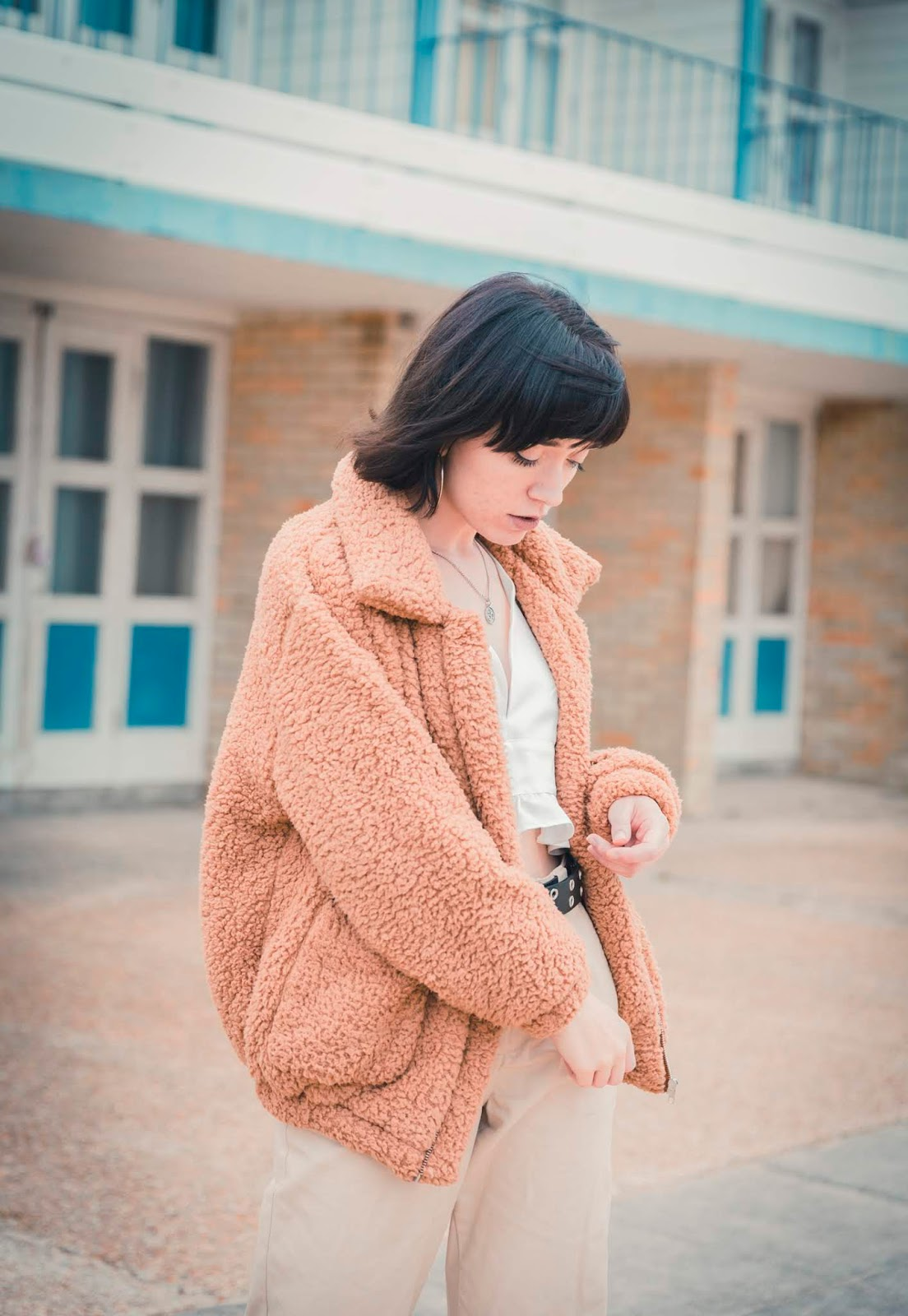 how-to-style-teddy-jacket-stylepeaches