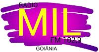Rádio Mil FM - Goiânia/GO