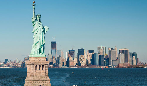 America is my ultimate dream I would like to achieve. I would love to see the statue of Liberty.  Photo from Internet