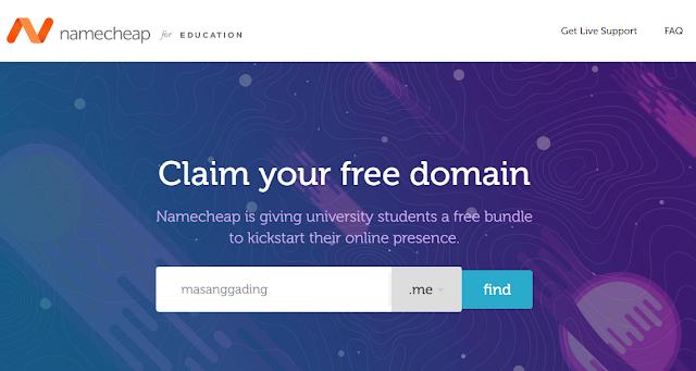 Cara Mendapatkan Domain .Me Gratis
