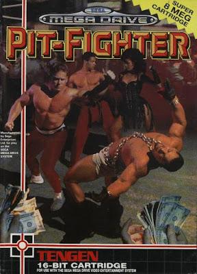 Rom de Pit-Fighter - Mega Drive - PT-BR