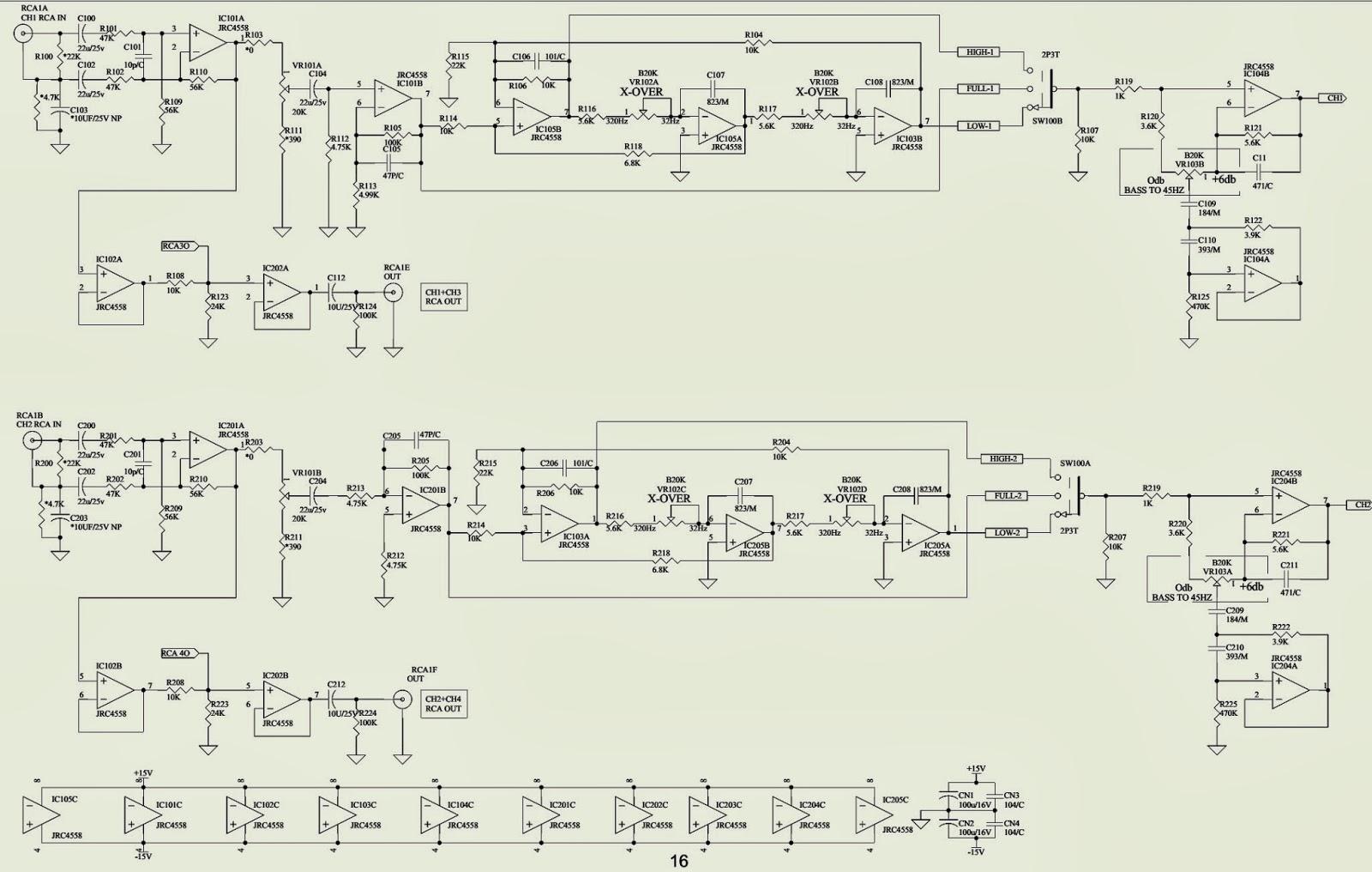 4 Channel Amp Wiring Diagram Car Stereo Harness Electro Help Jbl Cs 60 4channel Power Amplifier