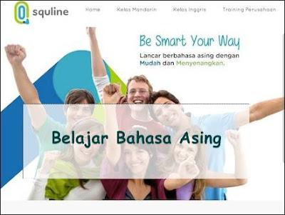 Belajara bahasa inggris online di squline dengan native speaker