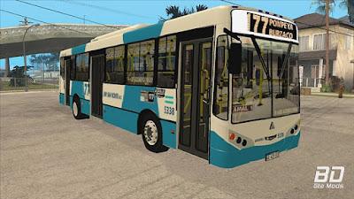 Download mod bus onibus Linea 177 Metalpar Iguazú II Agrale MT15 Interno 5338 ImVehFt para o jogo GTA San Andreas