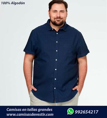 Camisas tallas grandes Apurimac