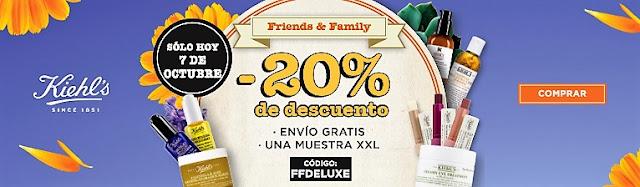 """El último FRIENDS & FAMILY de Kiehl´s (este año...) reponemos"""""""