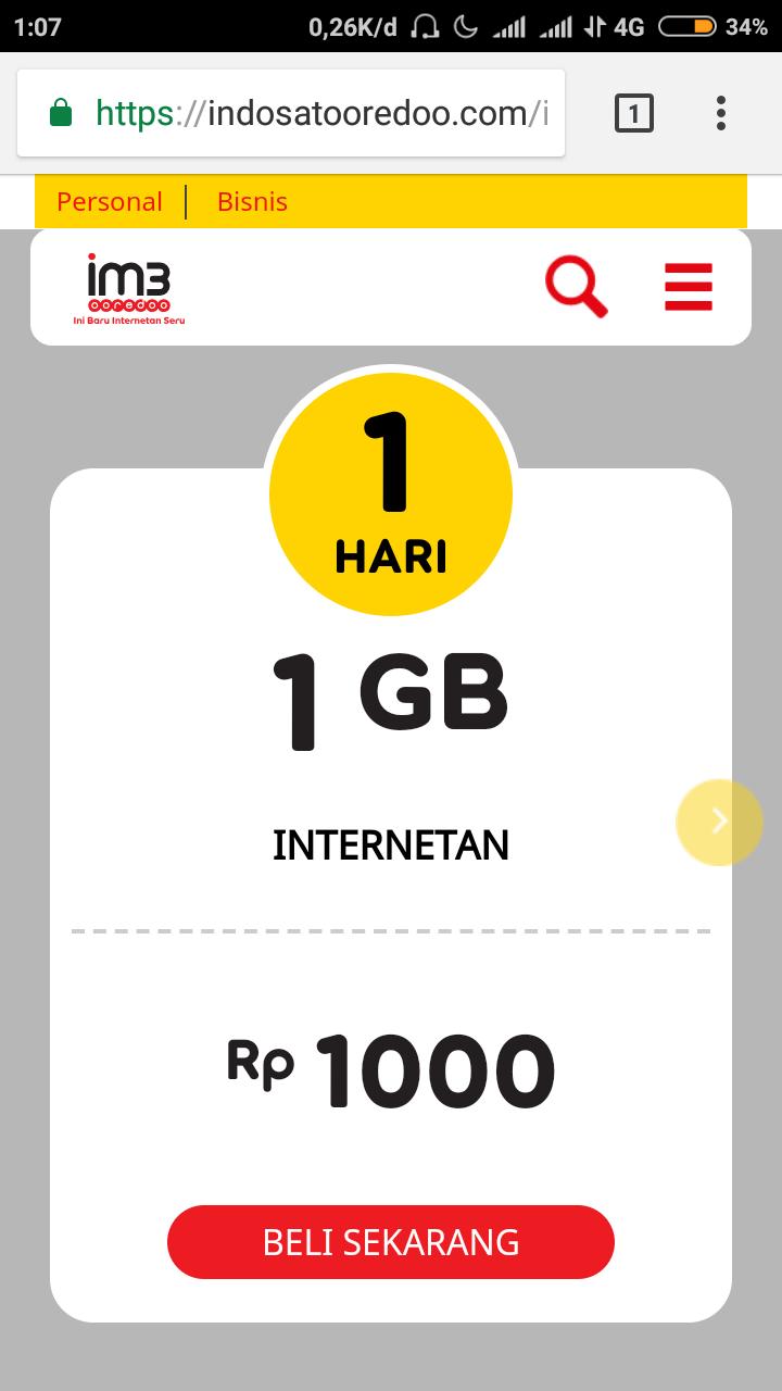 Work Cara Daftar Paket Yellow 1gb Indosat Agustus 2018 Sandallll Data 7 Hari Demikian Seribu Di Bulan Ini Semoga Bisa Membantu Jika Ada Problem Silakan Komentar