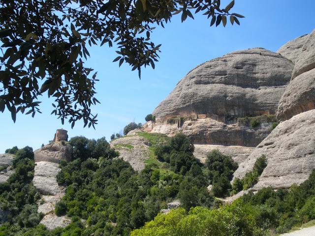 ruta senderista per Montserrat, Catalunya
