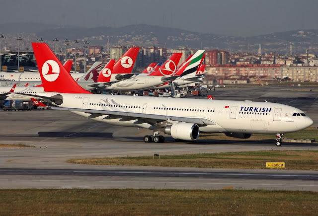 Airbus A330-200 of Turkish Airlines