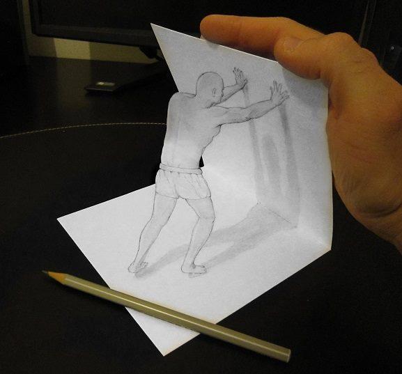 ilusi gambar tiga dimensi yang keren dan menakjubkan serta kreatif-22