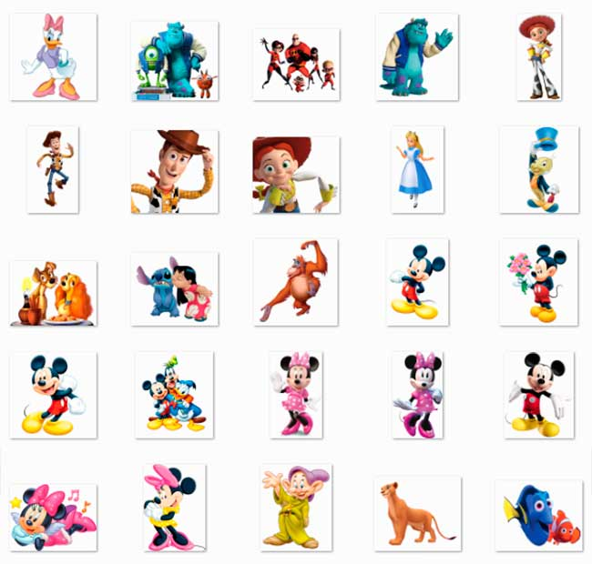 100 PNG Disney Character Images Preview 03