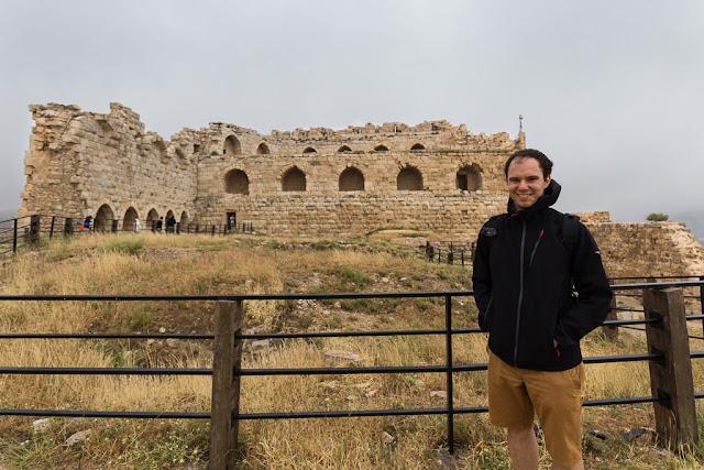 Galería de los cruzados en el castillo de Al-Karak, Jordania