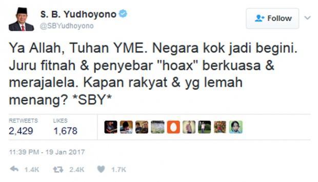 Indonesia Semakin Amburadul, SBY Pun Ikut Prihatin