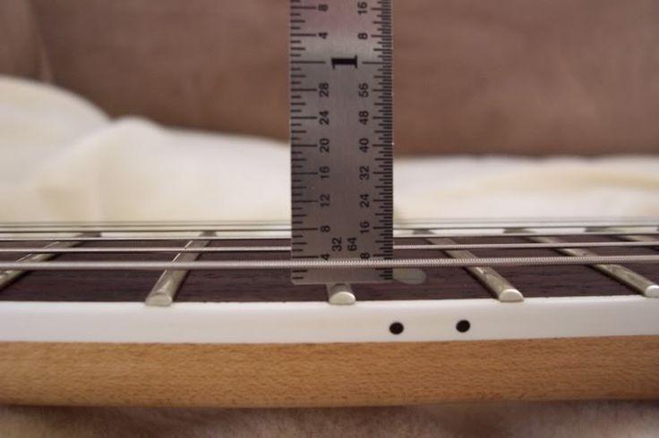 Cách chỉnh action đàn guitar khi nó quá cao hoặc quá thấp