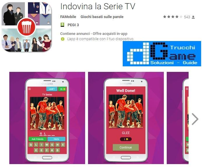 Indovina la Serie TV soluzione livello 1 2 3 4 5 6 7 8 9 10 | Parola e foto
