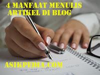 4 Manfaat Menulis Artikel Di Blog Orang Lain
