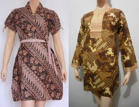 Jual Baju Batik Untuk Orang Gemuk The Blouse