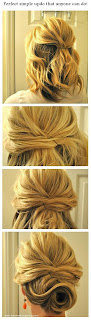 #5 updo for short hair