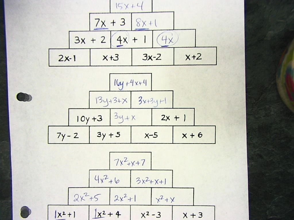 Math 7 With Mrs Vandyke February