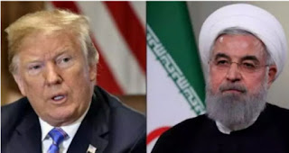 President Donald Trump Imposed sanctions  on Iran is now hindering and causing a lot of damage to the prosperity of the Iranians economy .