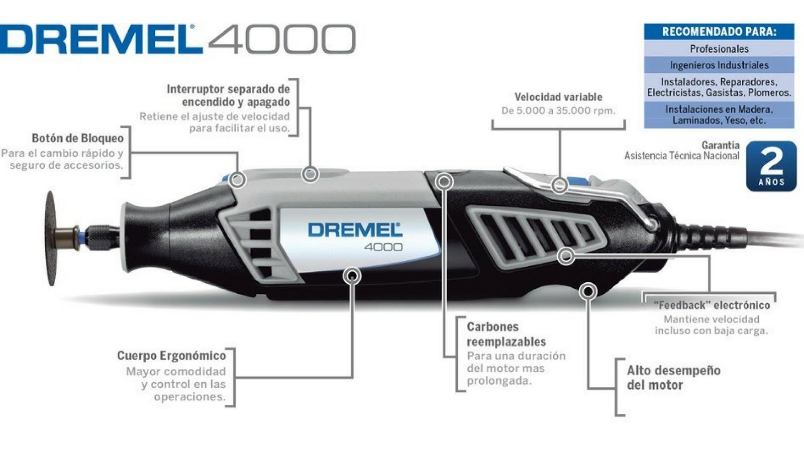DREMEL® 4000 (4000-6/128)