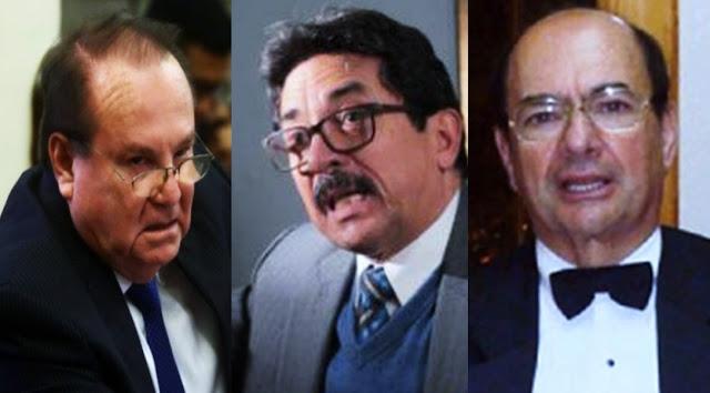 Luis Nava Guivert, Enrique Cornejo Ramírez y Miguel Atala Herrera.