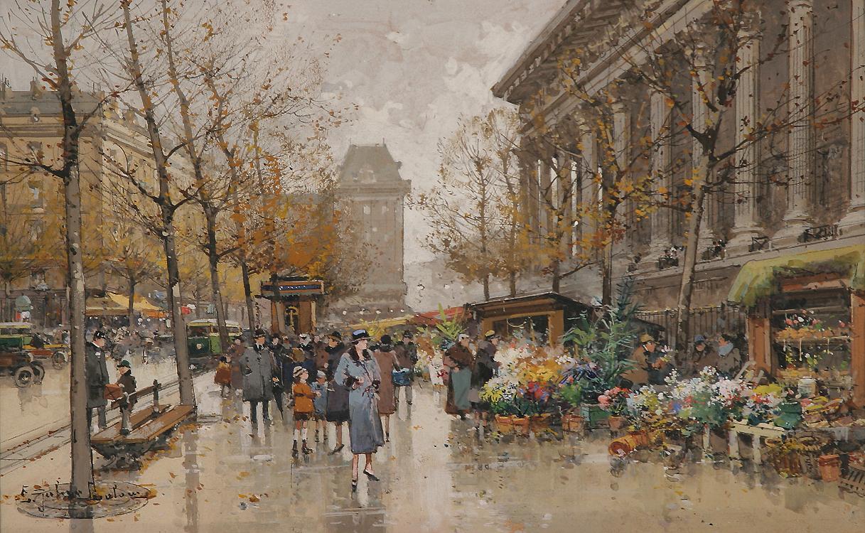 Eugene Galien-Laloue | Paris painting | Tutt'Art ...
