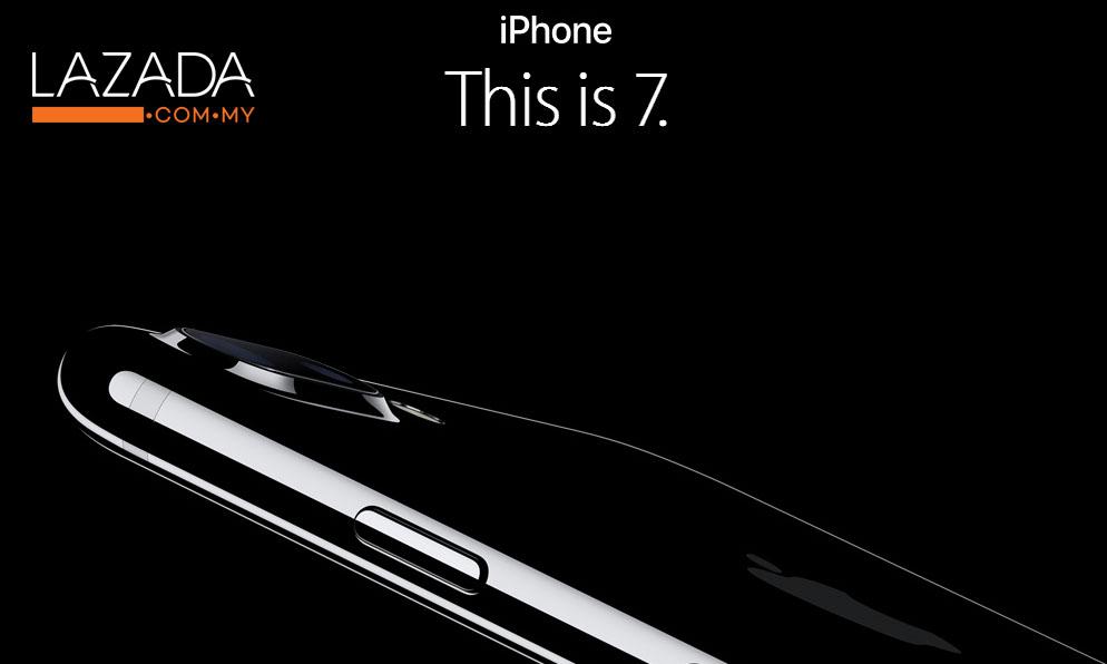 Tawaran Menarik iPhone 7 Lazada Malaysia