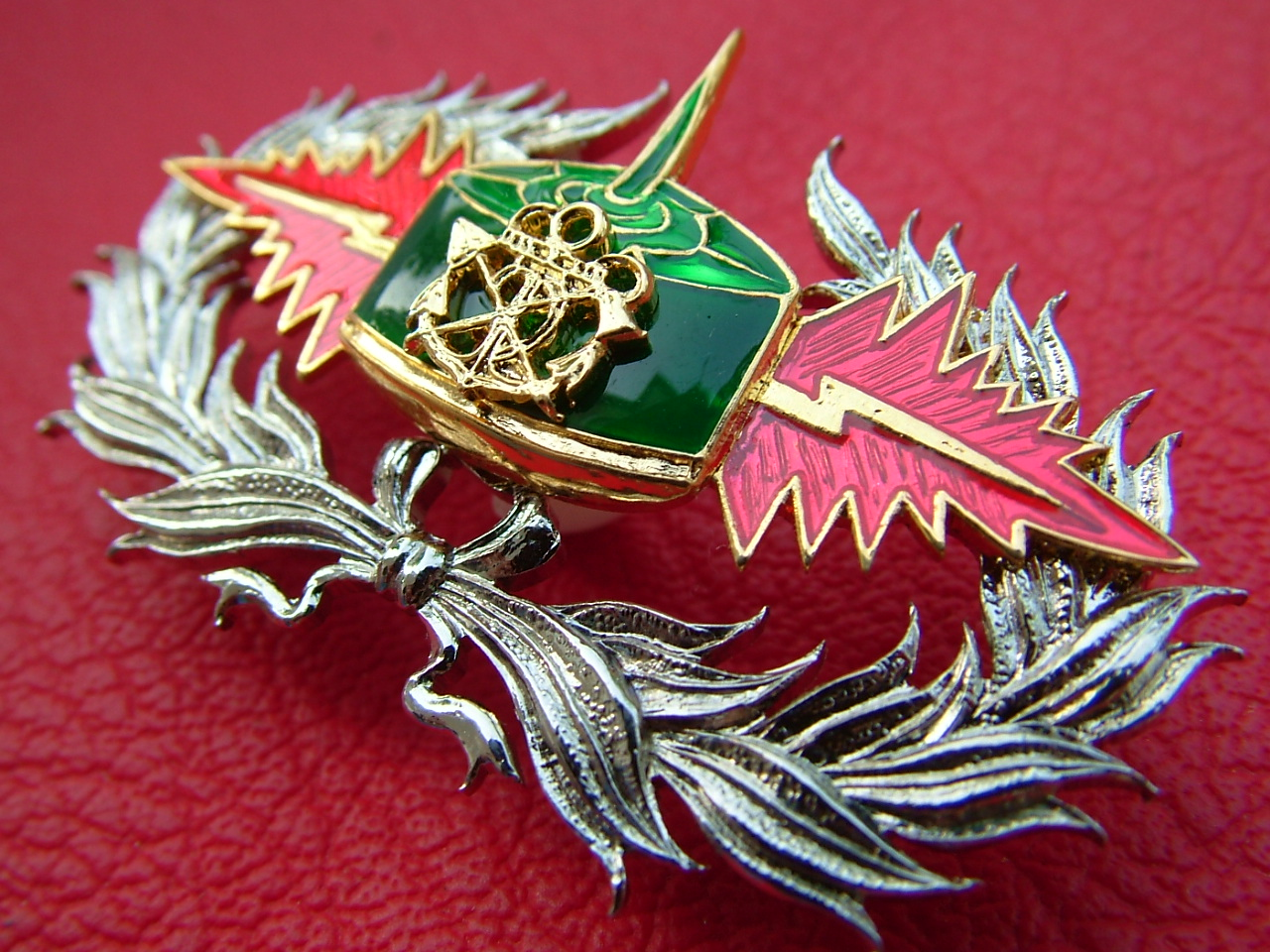 Royal Thai Military Mine Action War Programme Plated Metal