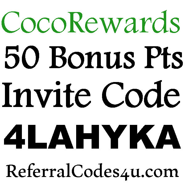 CocoRewards Promo Code 2021, 50 Points Coco Rewards Sign Up Bonus, CocoRewards Reviews