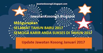 Jawatan Kosong Januari 2017