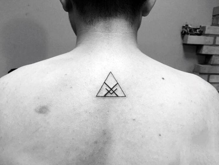 Back Small Tattoo Men