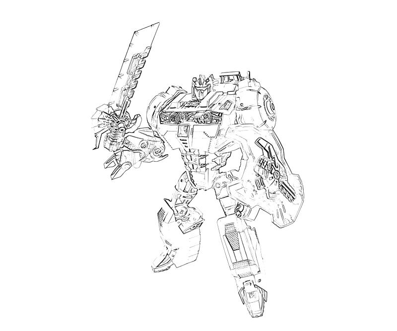 transformers cybertron coloring pages - photo#11