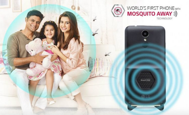 mosquito-repelling smartphone,