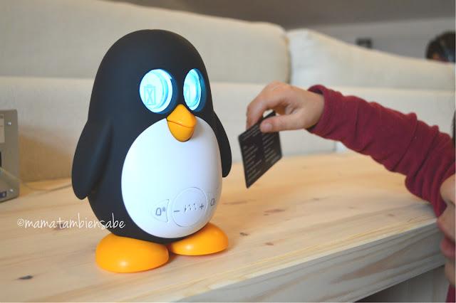 Marbo pingüino inteligente reconocimiento de voz