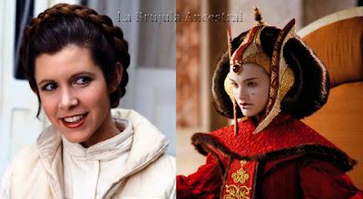 Princesa Leia y Reina Amidala