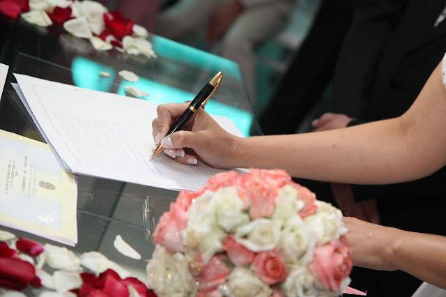 podpisanie intercyzy