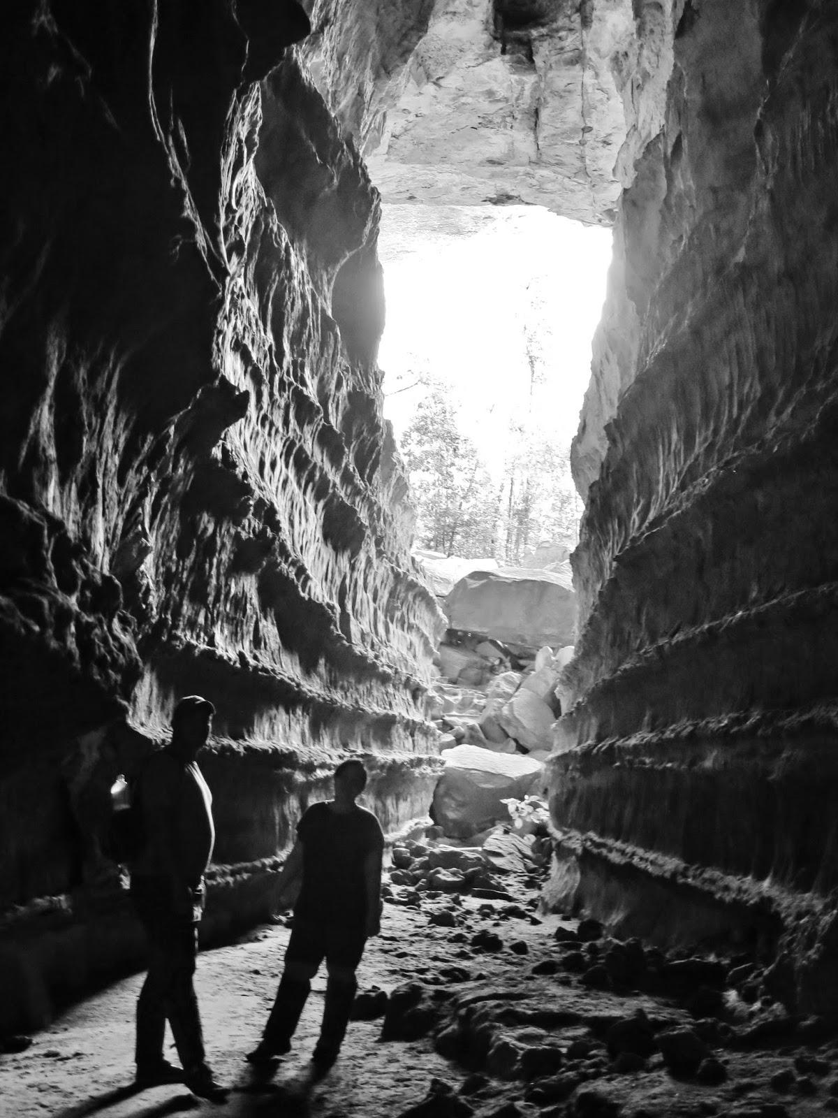 Caverna Catedral, na Chapada dos Guimarães.