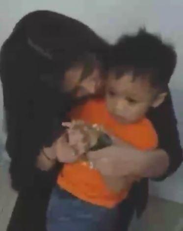 Little Boy Gets Shy As Angel Locsin Hugs Him